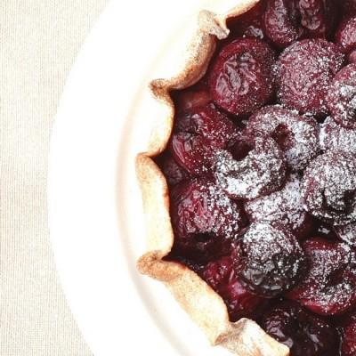 Finnish cherry tartlets