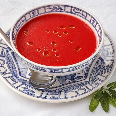 Sopa de sandía y tomate de Ferrán Adriá