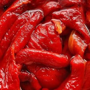 Confitura agridulce de pimientos rojos