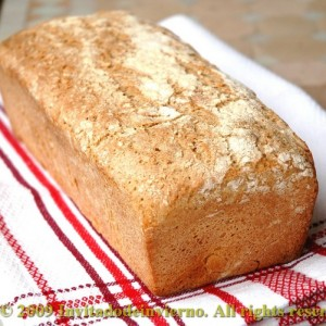 Pan de centeno 100% con masa madre de Peter Reinhart