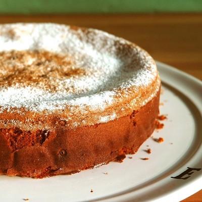 Shabby almond tart