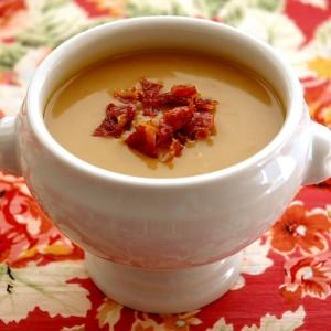 Otra sopa de castañas y calabaza