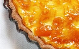 Tarta limequats requesón