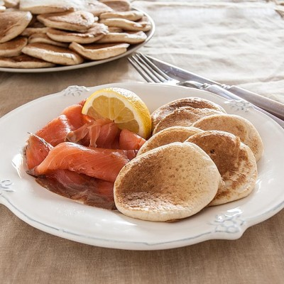 Sourdough blinis