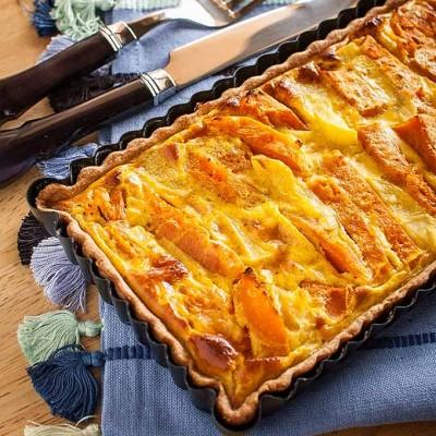 Tarta especiada de calabaza y patata y… un regalo