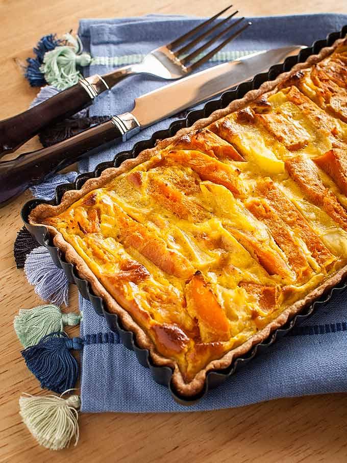 tarta de calabaza y patata