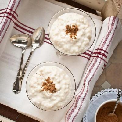 Arroz con leche andalusí