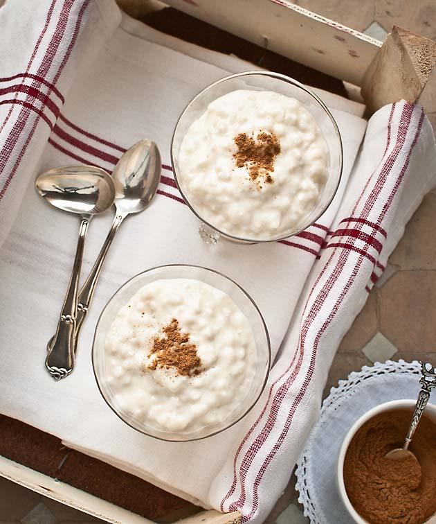 Arroz con leche y miel