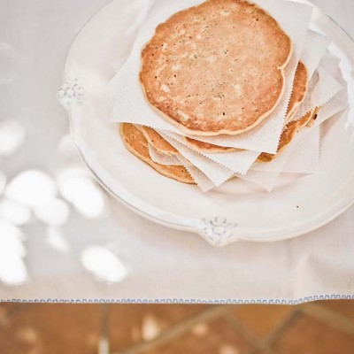 Panqueques de calabacín para desayunar