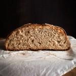 Pan de cerveza, espelta y miel