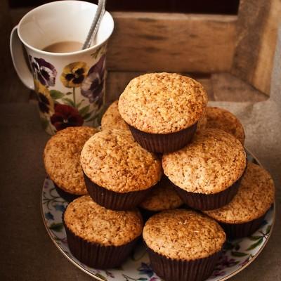 Muffins de centeno y canela