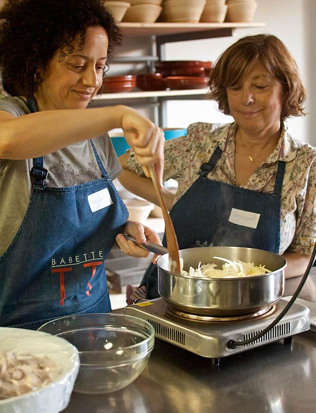 Curso escabeches Cocina Babette