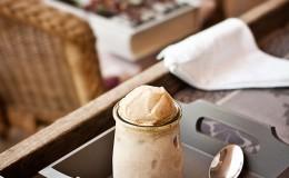 helado de platano