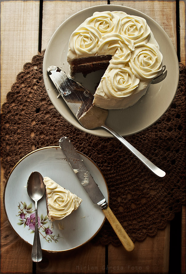 Tarta chocolate buttercream