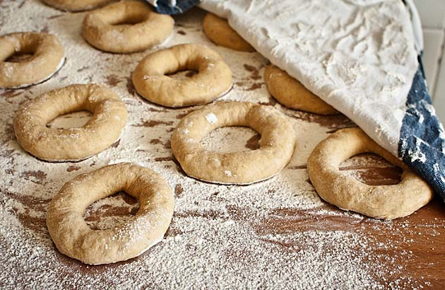 Donuts caseros de sidra