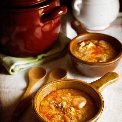 School of Tapas: Garlic Soup Shots
