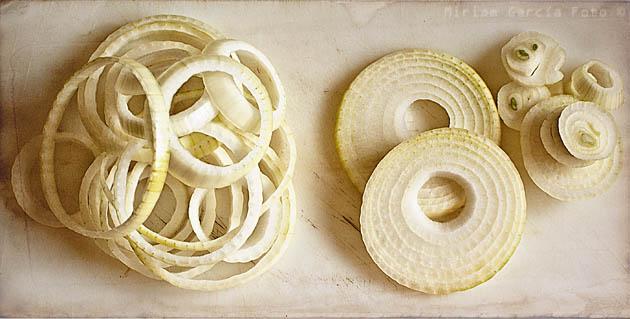 Aros cebolla rebozados masa madre