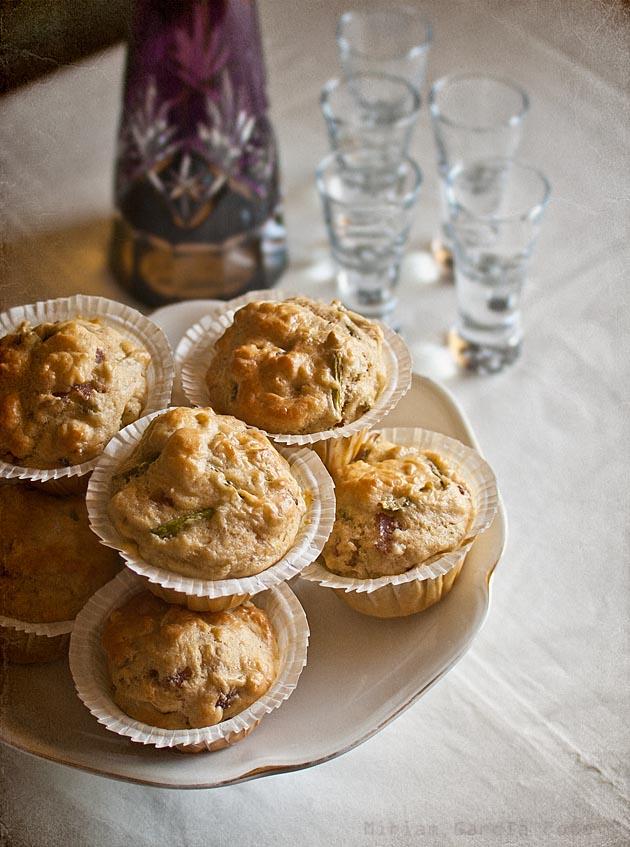 Muffins espárragos
