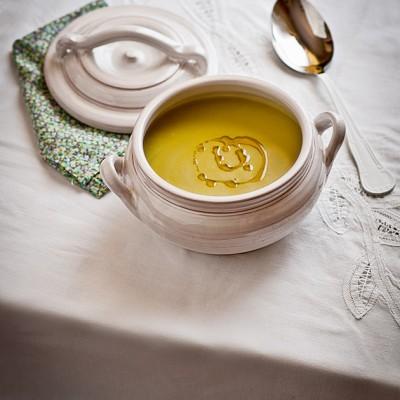 Gazpacho de cilantro