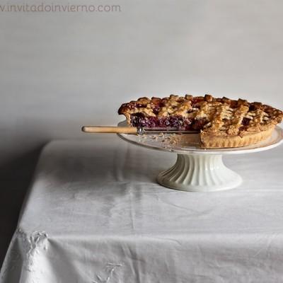 Cherry pie from Valle del Jerte