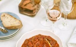 Ensalada pimientos tomate sefardí