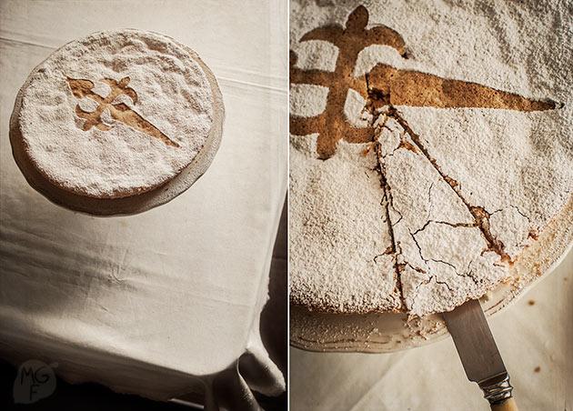 Tarta de Santiago St. James' cake