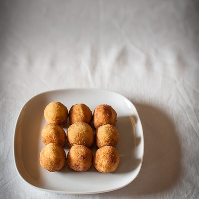 Mushroom and manchego croquettes