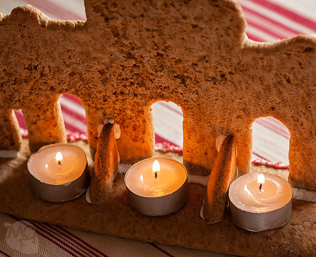 Gingerbread landmark