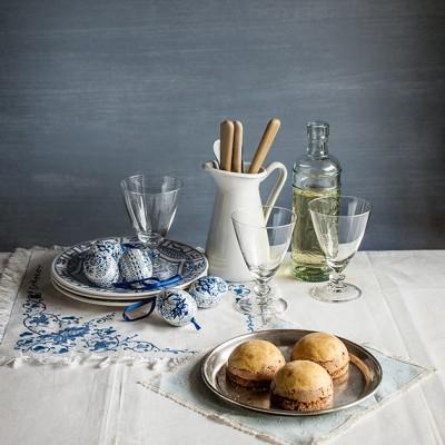 Pastelitos de foie con pan de especias