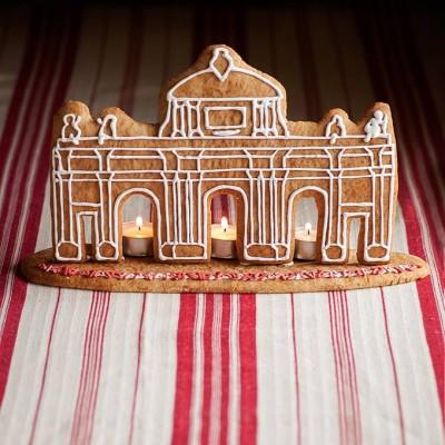 Gingerbread meets a Spanish landmark