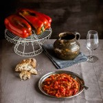 School of tapas: Red pepper and tomato salad from La Mancha