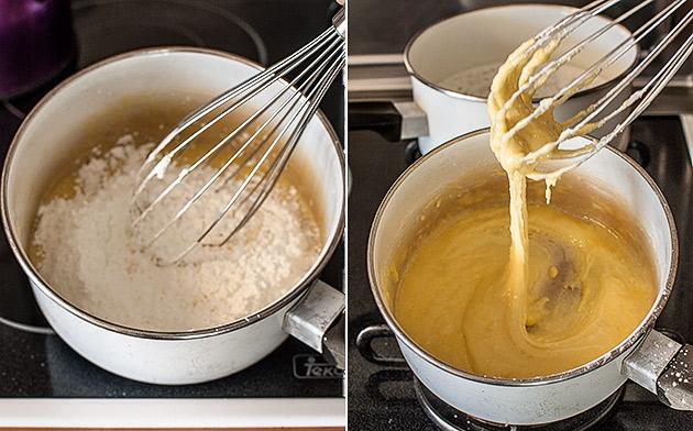 imagen de crema pastelera casera
