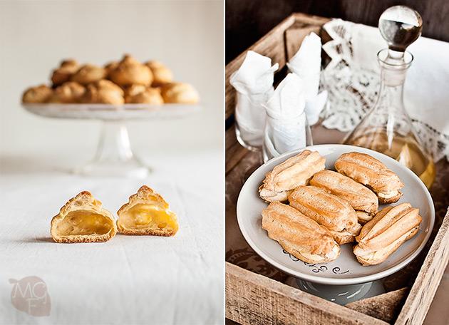 imagen de pasteles de masa choux
