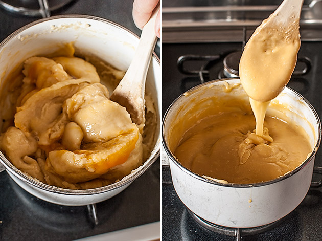 imagen de como hacer masa choux