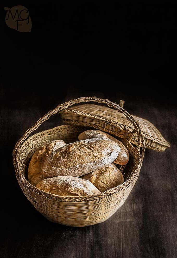 pan de bocadillos