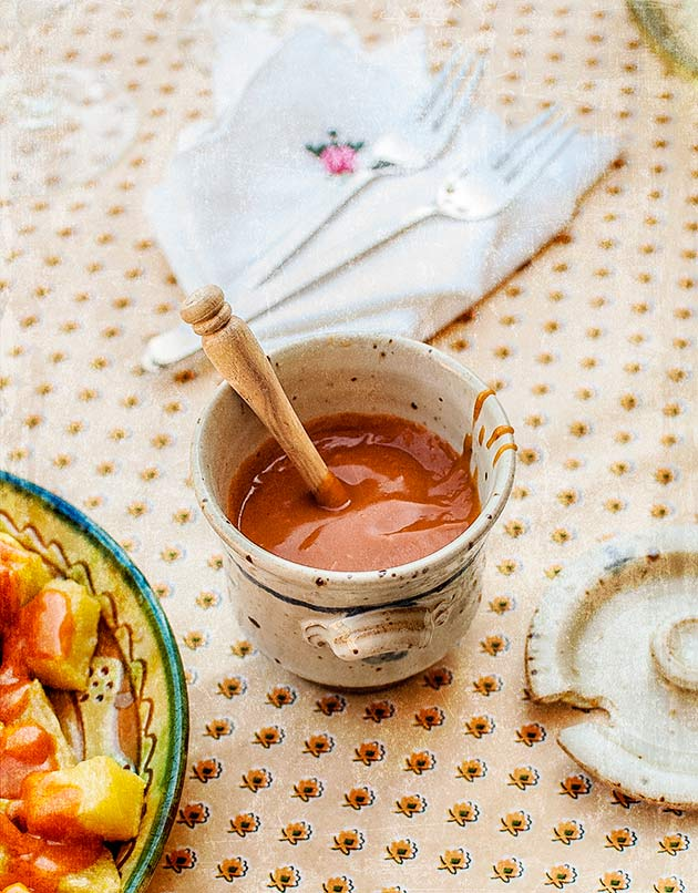 imagen de salsa brava auténtica