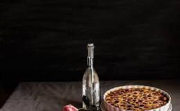 imagen de clafoutis de cerezas