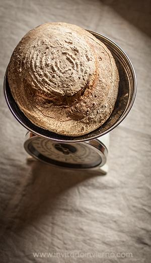 como se hace pan con masa madre