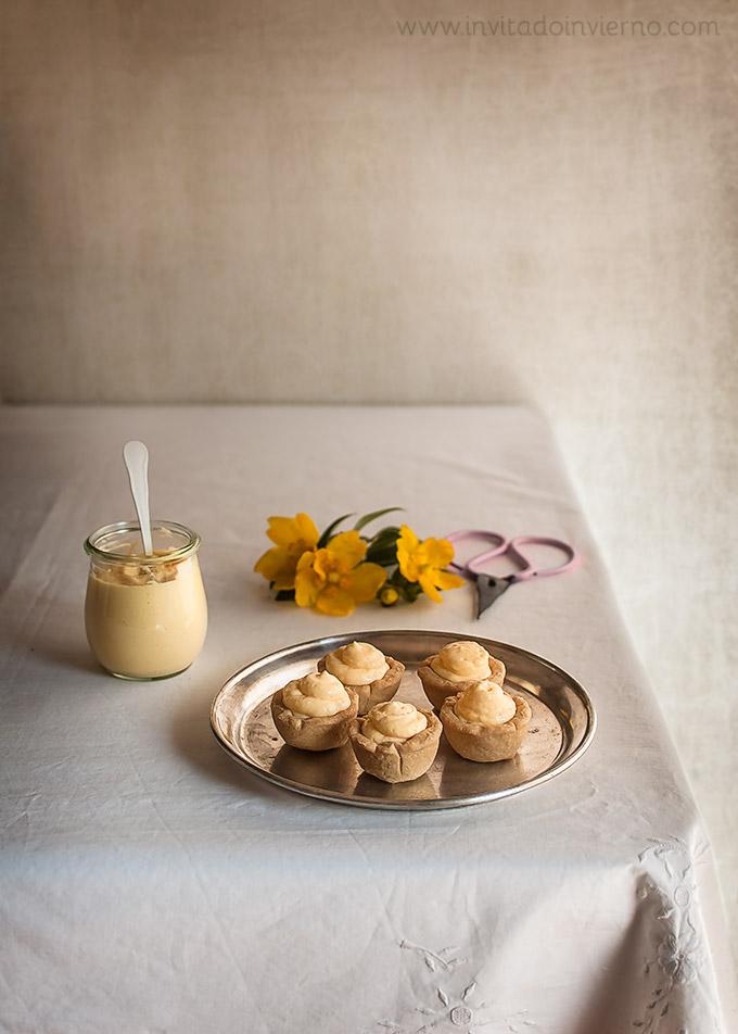 imagen de como hacer lemon curd o crema de limon inglesa