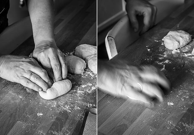 imagen de como hacer pan de hamburguesa paso a paso