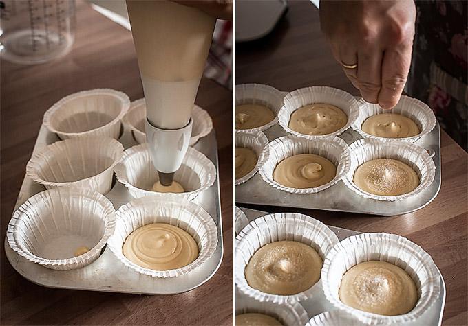 como hacer magdalenas de nata