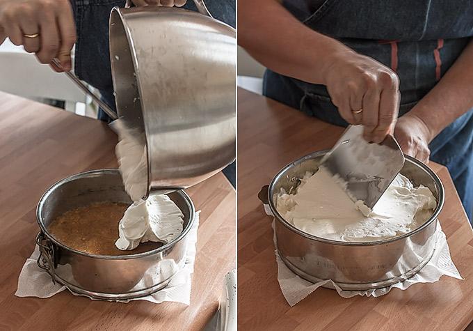 imagen de como hacer tarta de queso sin horno