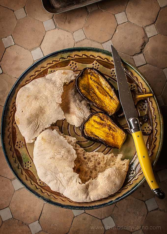 pan de pita en casa