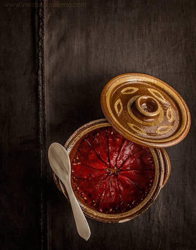 imagen de pimientos del piquillo confitados