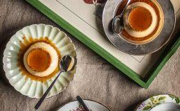 imagen de flan de huevo