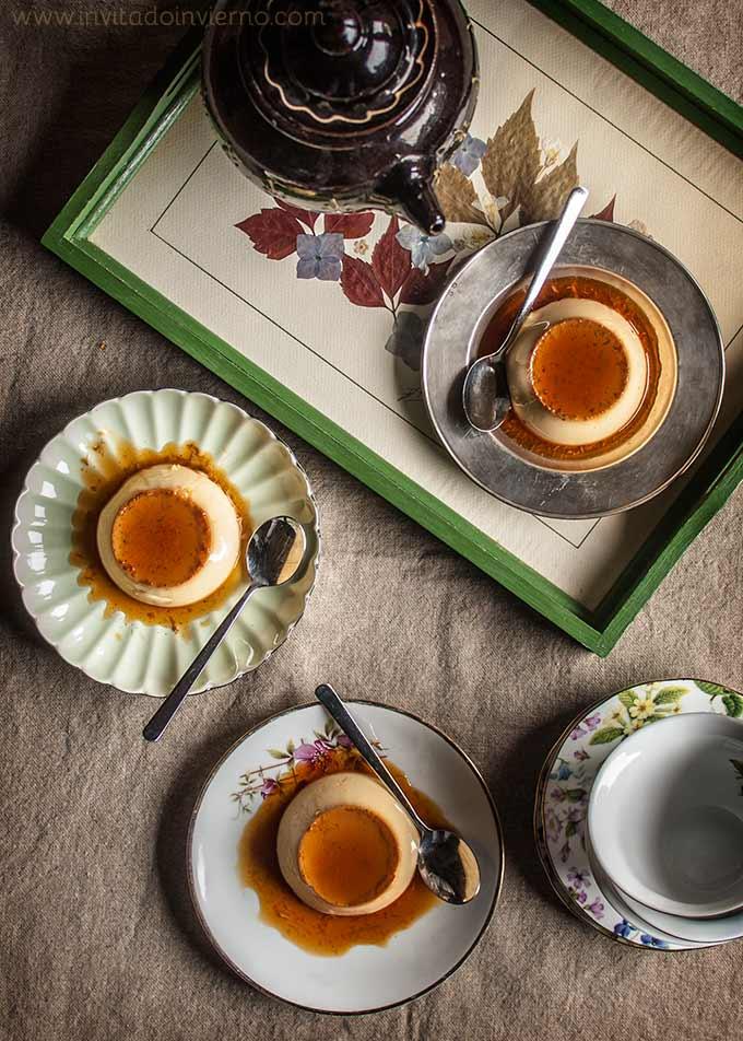 Flan de huevo casero recetas con fotos el invitado de invierno - Flan de huevo sin horno ni bano maria ...