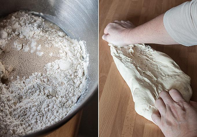 masa de empanada gallega paso a paso