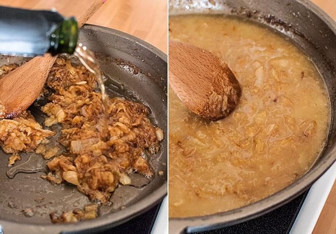 sopa de cebolla paso a paso