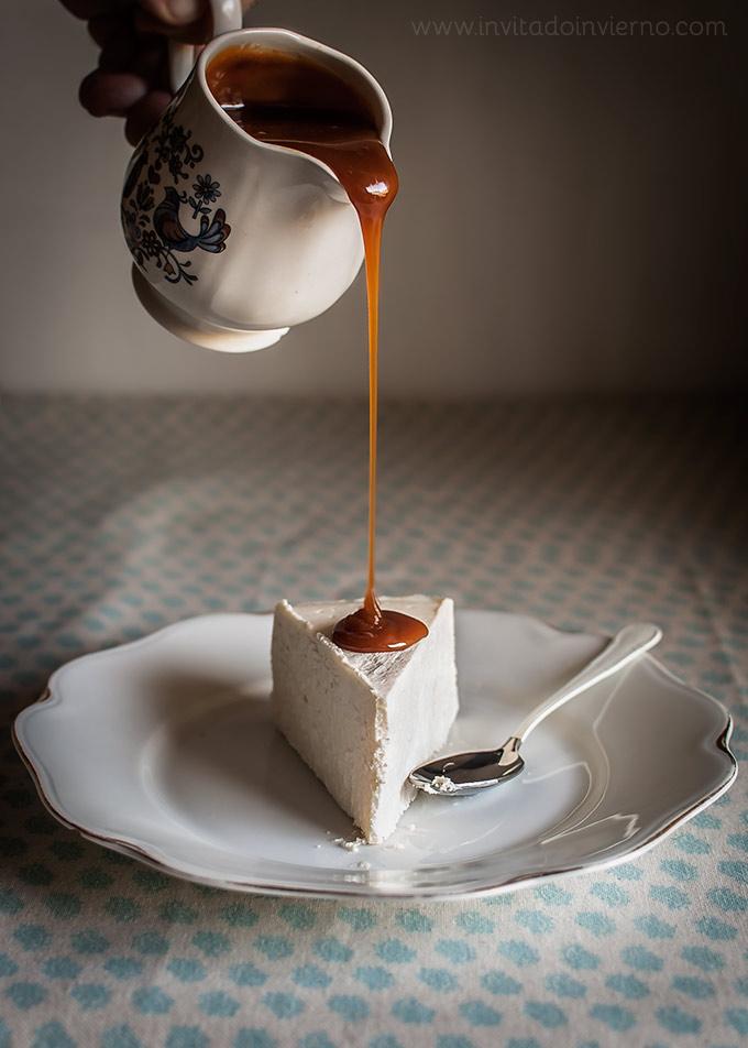 imagen de tarta de queso al horno