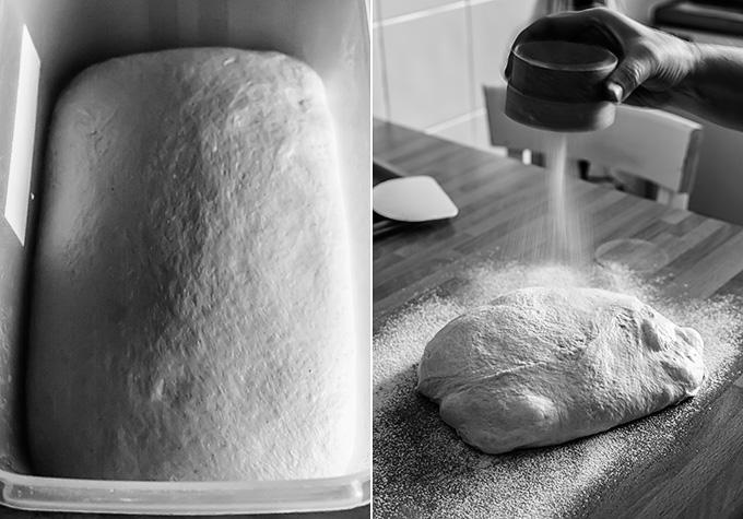 rosca de pan paso a paso
